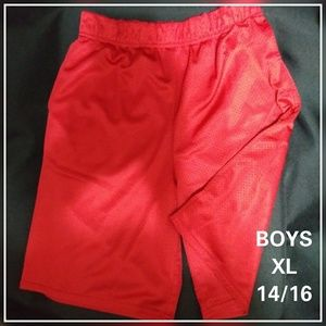 Other - Boys Red Gym Shorts